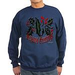 Christmas Holly Sweatshirt (dark)