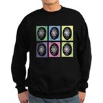 Pop Art Pysanka Sweatshirt (dark)
