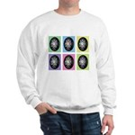Pop Art Pysanka Sweatshirt