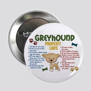 """Greyhound Property Laws 4 2.25"""" Button"""