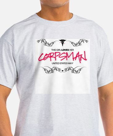 This Girl Loves (Corpsman) T-Shirt