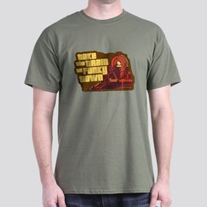 Funkytown Train (brown) Dark T-Shirt