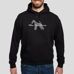 Wire Fox Terrier Hoodie (dark)