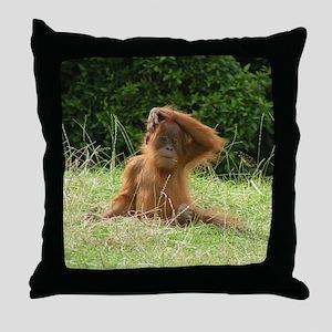 Spikey Head Throw Pillow