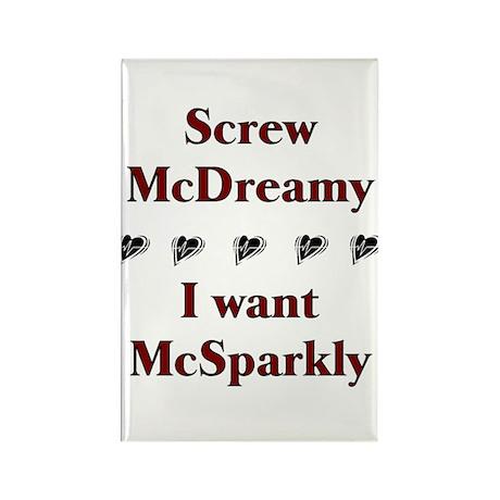 Twilight McSparkly Rectangle Magnet