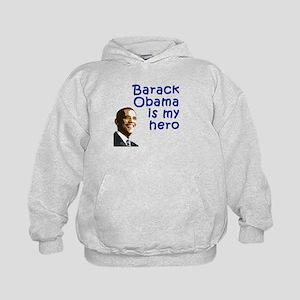 Obama is my Hero Kids Hoodie