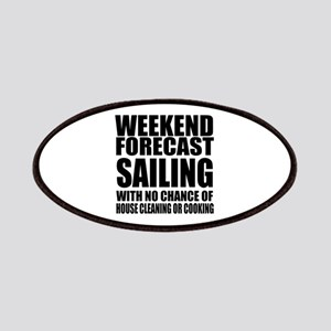Weekend Forecast Sailing Sports Designs Patch
