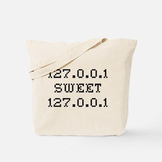 127.0.0.1 Sweet Tote Bag