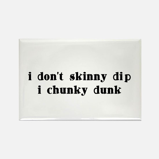 Chunky Dunk Rectangle Magnet