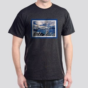 Lake Tahoe in Winter Dark T-Shirt