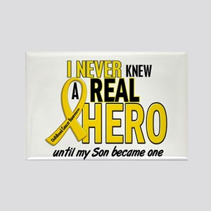 Never Knew A Hero 2 GOLD (Son) Rectangle Magnet