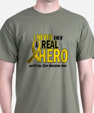 Never Knew A Hero 2 GOLD (Son) T-Shirt