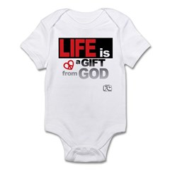 Life... GIFT from GOD Infant Bodysuit