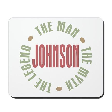 Johnson Man Myth Legend Mousepad