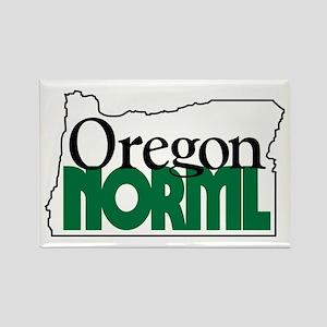 Oregon NORML Logo Rectangle Magnet