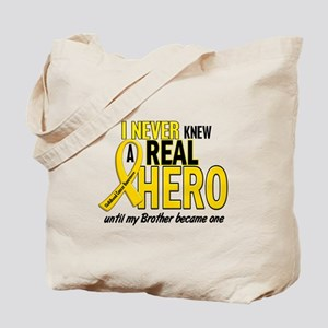 Never Knew A Hero 2 GOLD (Brother) Tote Bag