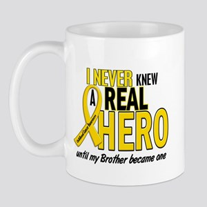 Never Knew A Hero 2 GOLD (Brother) Mug