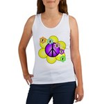Peace Blossoms /purple Women's Tank Top