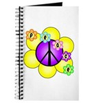 Peace Blossoms /purple Journal