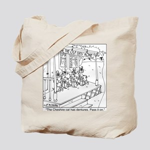 At The Old Cats' Home Tote Bag