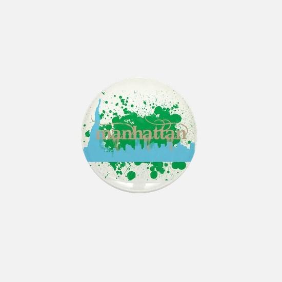Manhattan Mini Button