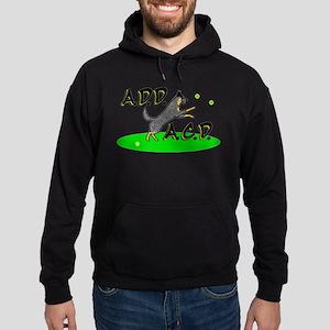 add acd blue Hoodie (dark)