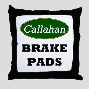 Callahan's Throw Pillow