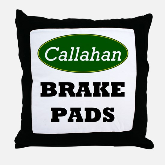 Callahan's Throw Pillow