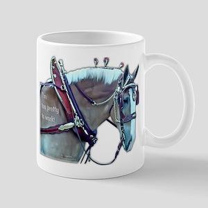 Too Pretty to Work Mug