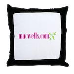macwells.com Throw Pillow