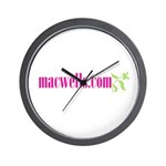 macwells.com Wall Clock