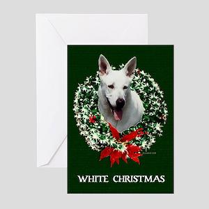 White Shepherd Christmas Cards (Pk of 10)