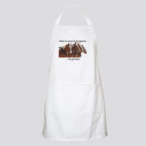 """""""Tons"""" of Horse Power BBQ Apron"""