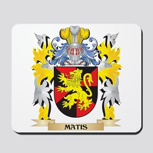 Matis Coat of Arms - Family Crest Mousepad