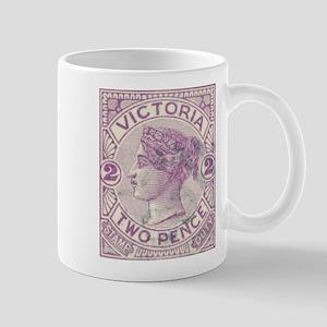 Victoria 2d purple Mug