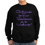 GIRLFRIENDS Sweatshirt (dark)