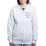 GIRLFRIENDS Women's Zip Hoodie