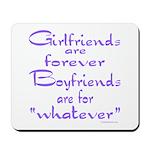GIRLFRIENDS Mousepad