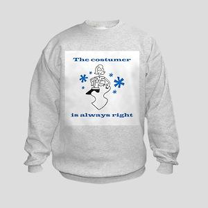 Costumer Sewing Kids Sweatshirt
