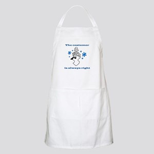 Costumer Sewing BBQ Apron