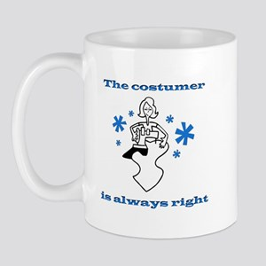 Costumer Sewing Mug