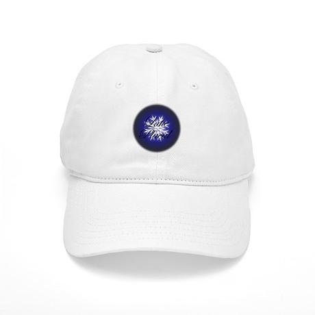 Snowflake Lake Placid Christmas Cap