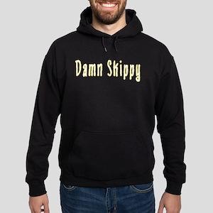 Damn Skippy Hoodie (dark)