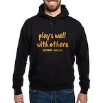 Plays Well Hoodie (dark)