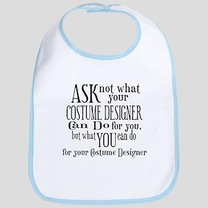 Ask Not Costumer Bib