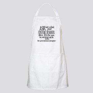 Ask Not Costumer BBQ Apron