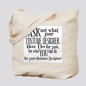 Ask Not Costumer Tote Bag