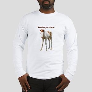 Assateague Island Foal Long Sleeve T-Shirt