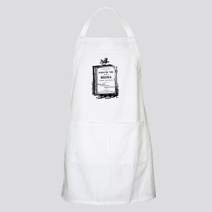 Book Man w/Hat BBQ Apron