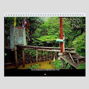 2009 Old School Thai Calendar